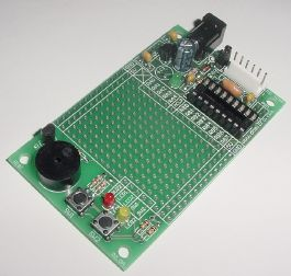 Rapid18i PIC prototyping board